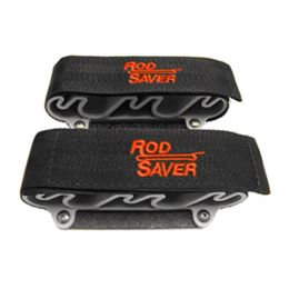 Rod Saver Portable Side Mount w/Dual Lock 4 Rod Holder