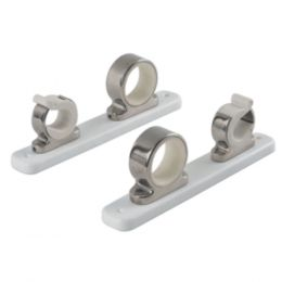 TACO 2-Rod Hanger w/Poly Rack - Polished Stainless Steel