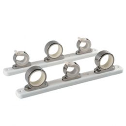 TACO 3-Rod Hanger w/Poly Rack - Polished Stainless Steel